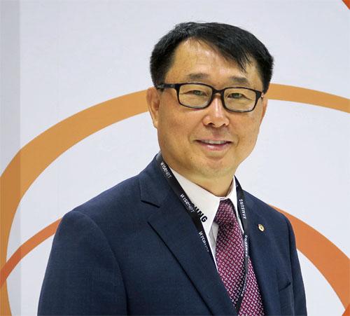 Bob Hwang, Director de General de Hanwha Techwin