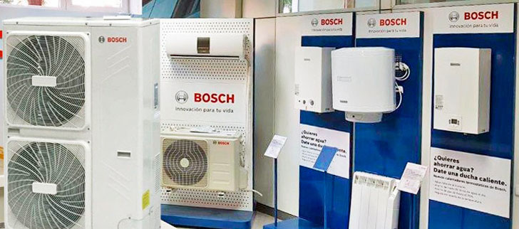 Equipos de Bosch climatización