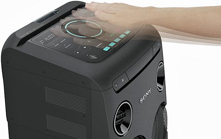 Altavoz MHC-V77DW de la gama High Power Audio de Sony