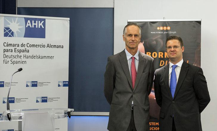 Presentación de eGym en la Cámara de Comercio Alemana para España