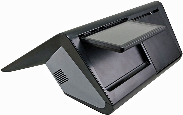 Mini POS (punto de venta) RiPac-10P1 de Avalue Technology