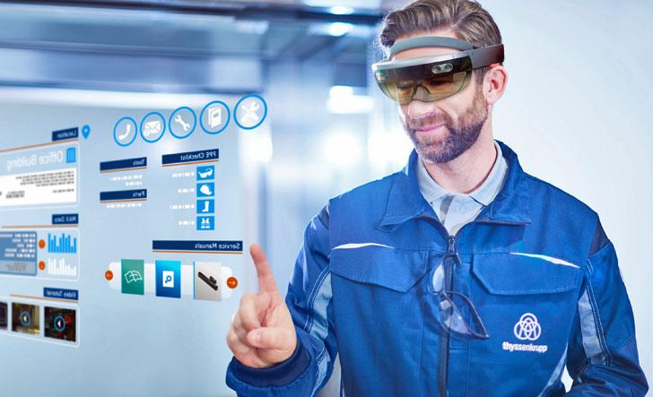 HoloLens de Thyssenkrupp
