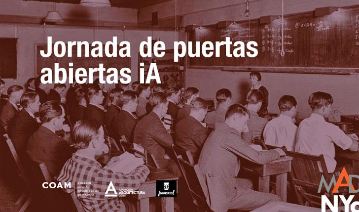 Jornada de Puertas Abiertas del Instituto de Arquitectura