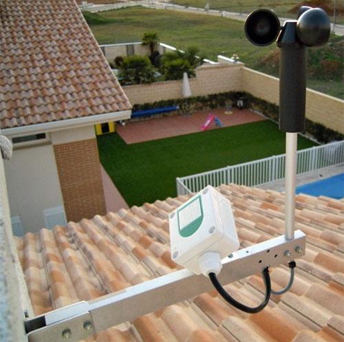 Sistema de alarma instalado en la vivienda con Sistema Smart Home de Loxone