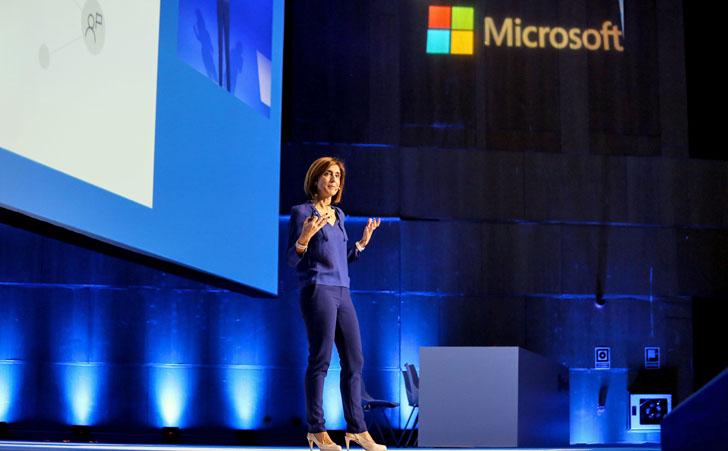 Pilar López, presidente de Microsoft durante la Microsoft Summit