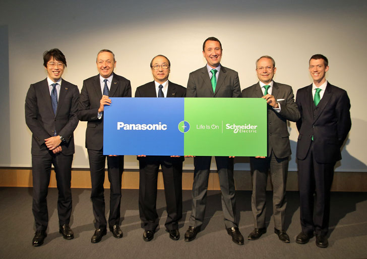 Acuerdo entre Schneider Electric y Panasonic