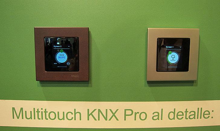 Multitouch KNX Pro de Schneider Electric