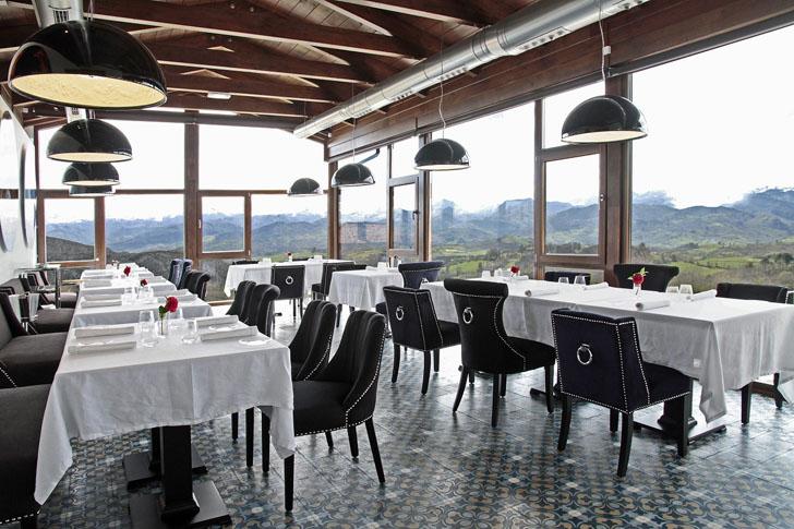Comedor Hotel Puebloastur