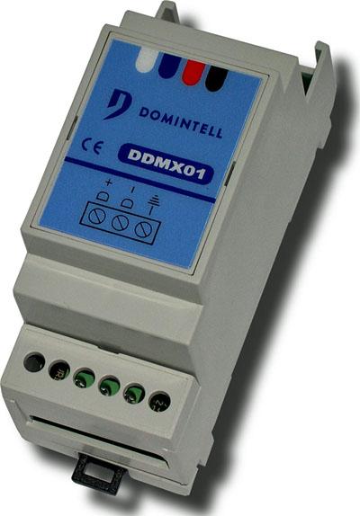 Master Domintell DGQG01 para centralizar la gestión de las rutinas del Mercat Vell