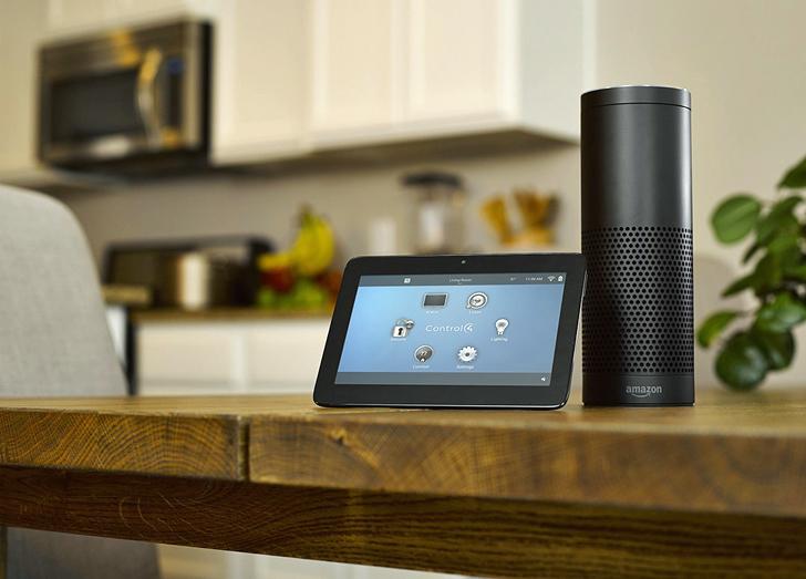 Control4 y Alexa de Amazon
