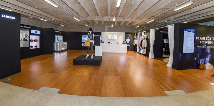 Tienda virtual de Samsung en Retail con futuro