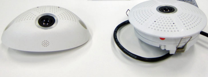 cámaras de interior IP hemispheric de 6 MP de MOBOTIX