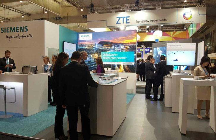 Stand de Siemens en la Smart City Expo