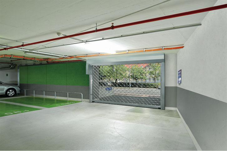 Puerta enrollable TGT de Hormann