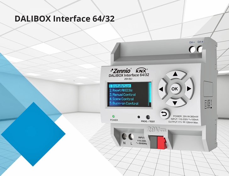 DALIBOX Interface 64/32 de Zennio