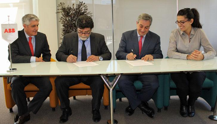 Firma entre ABB y APIEM