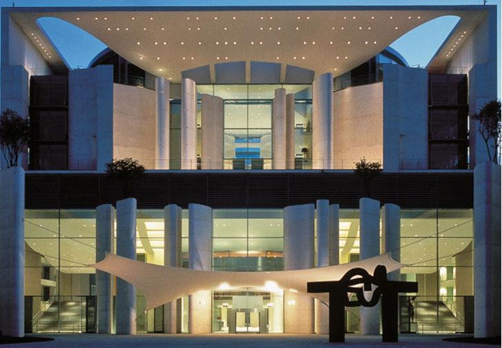 Edificio con automatización KNX