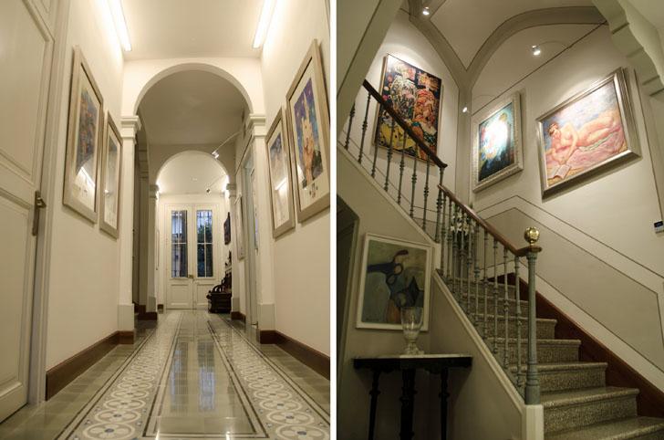 Sensores e iluminación en los pasillos de Fundación Ave María