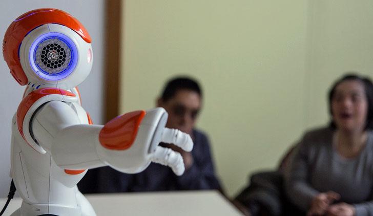 Robots inteligentes en terapias sensoriales