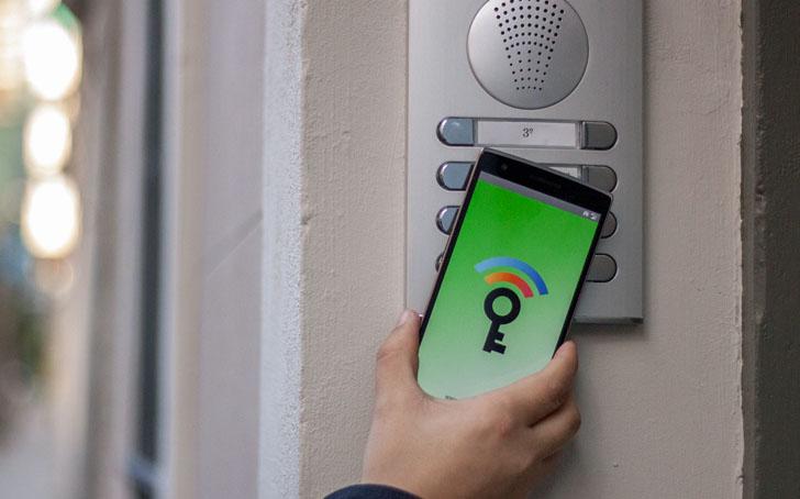 Sistema NFC de IDTrónica para abrir las puertas