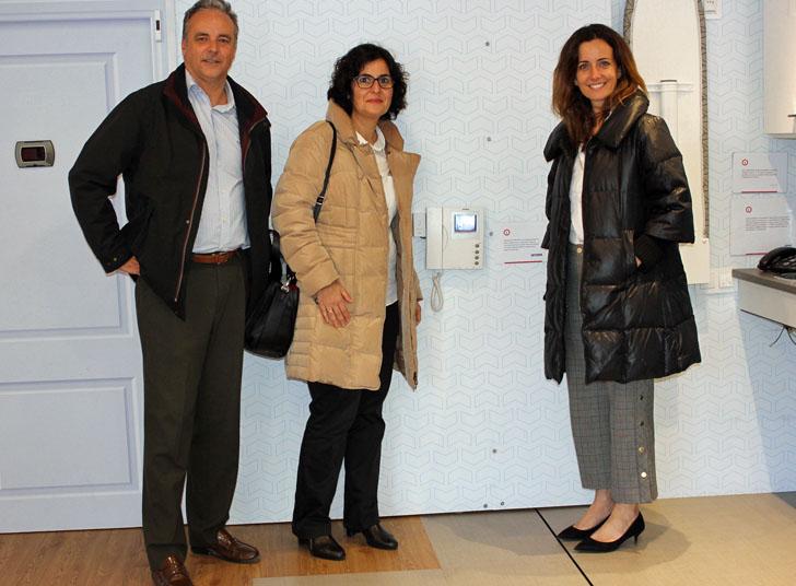 Visita de Fermax a la Casa Inteligente durante su estancia en Valencia