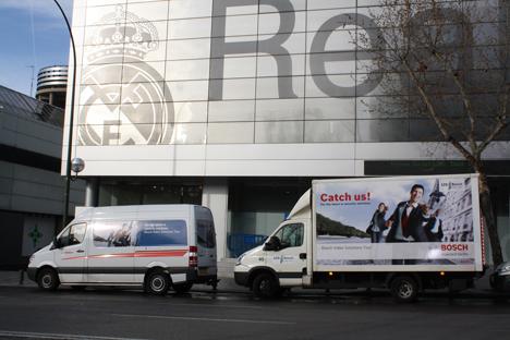 Los camiones con el lema Catch us!, símbolo del VSTour, han visitado las principales ciudades europeas
