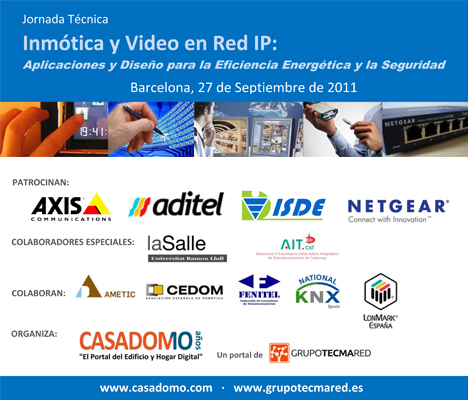 Curso Especialización Inmótica y Vídeo en Red IP