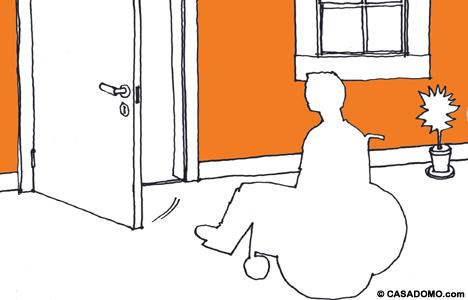 Puerta Automática Hogar Digital para Discapacitados