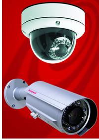 Cámaras infrarrojos minidomo HD4DIRX y bullet HCD95534X antivandálicas de Honeywell