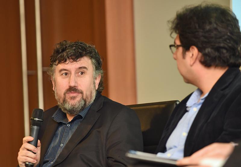 Andrés Salcedo, de CNI, en la Jornada Lanzamiento del III Congreso Edificios Inteligentes