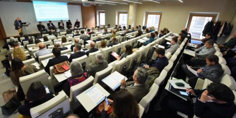 Jornada Lanzamiento del III Congreso Edificios Inteligentes en el COAM
