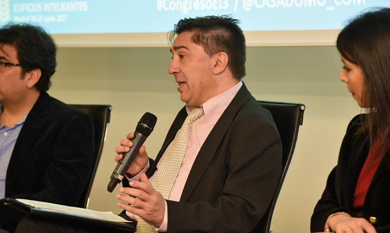 Roberto Rojas, IFMA, en la Jornada Lanzamiento del III Congreso Edificios Inteligentes