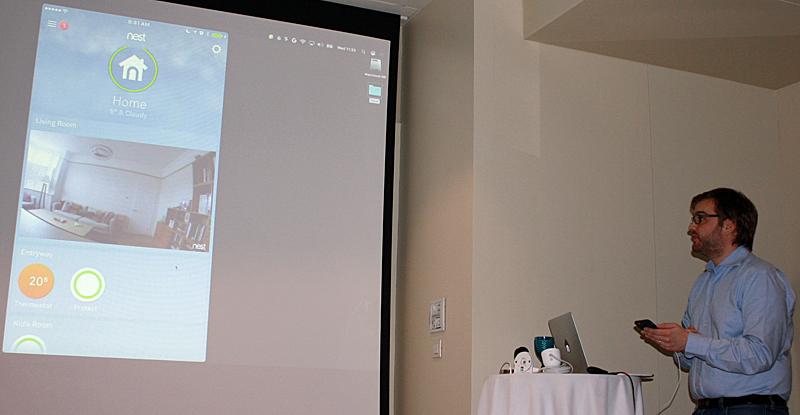 App para gestionar la cámara indoor