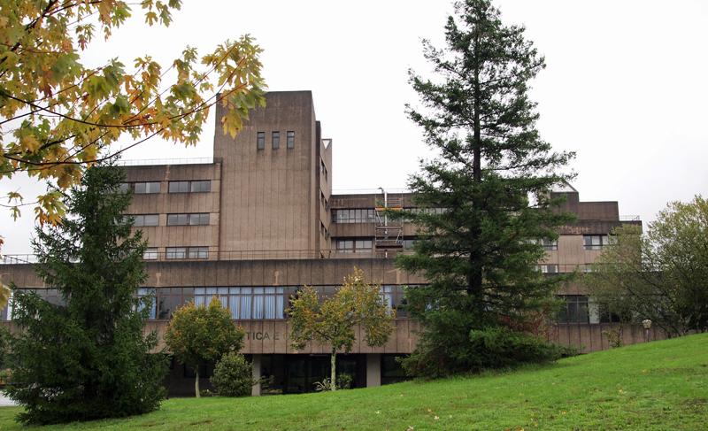 Edificio de la Universidad de Santiago de Compostela