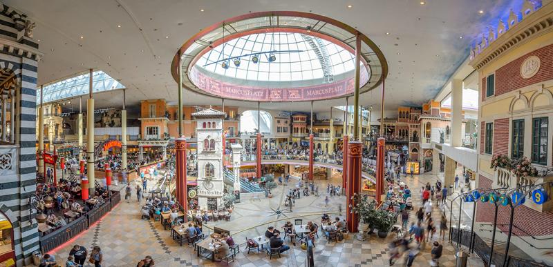 Marcus Platz del centro comercial PlusCity