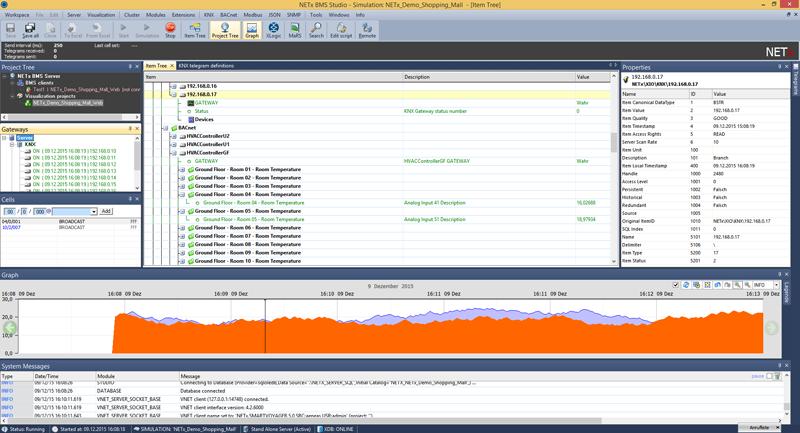 Software BMS de NETxAutomation