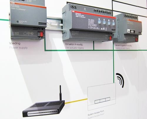 La instalación del sistema inalámbrico evita obras y cableado, ya que se conecta mediante un punto de acceso wifi.