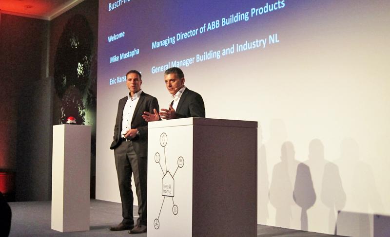 Durante el evento festivo con clientes y socios de distintos países, ABB celebró el millón de ventas de sistemas de domótica Free@home.