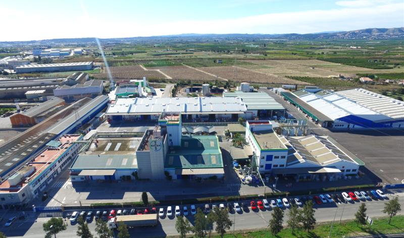 Siemens instalará mejoras en el sistema de seguridad contra incendios de la planta de Bayer en Quart de Poblet (Valencia) con capacidad para interpretar la información de sensores y controladores en tiempo real. Imagen aérea de la planta.
