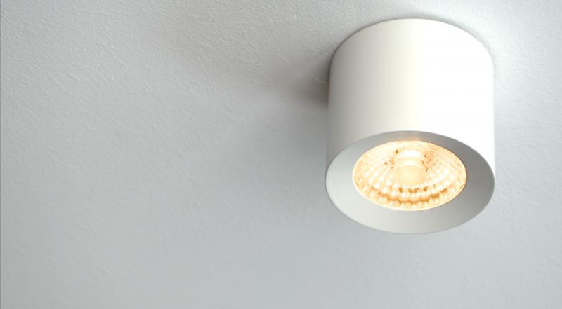 Las nuevas luminarias LED Spot cuenta con una eficiencia energética de A++.