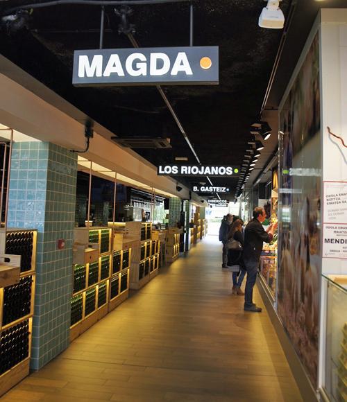 Interior del Mercado de Abastos de Vitoria-Gasteiz