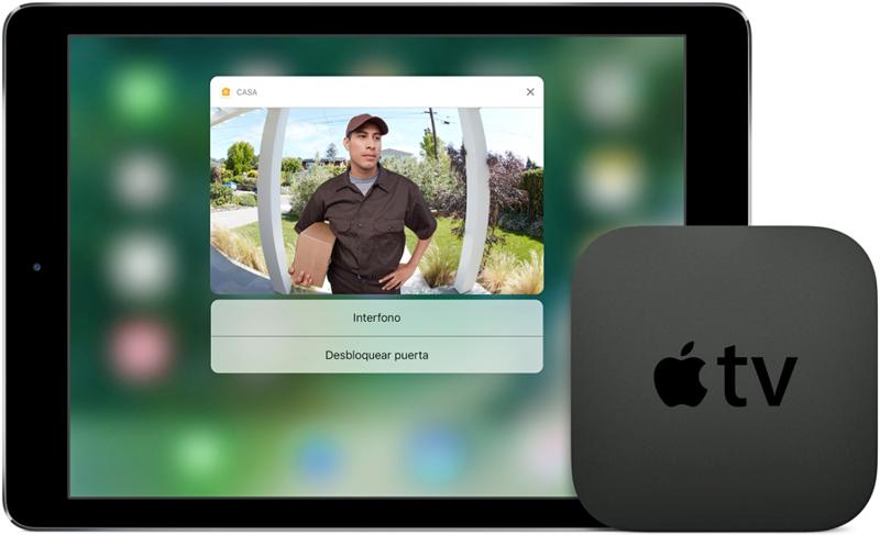 Apple TV con HomeKit