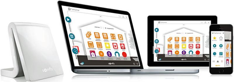 App para controlar el hogar inteligente TaHoma de Somfy