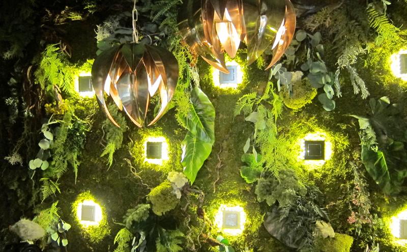 Pared creativa bosque de luciérnagas de NIESSEN-ABB
