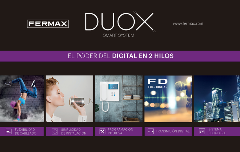 Fermax ofrece diferentes servicios con innovación tecnológica.