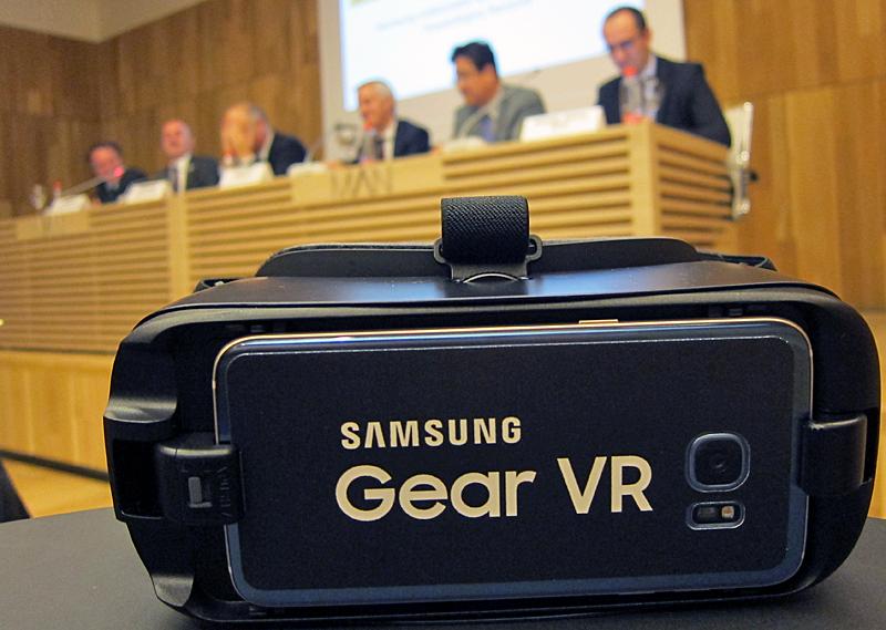 Rueda de prensa de la presentación de la colaboración entre Samsung y el Museo Arqueológico Nacional