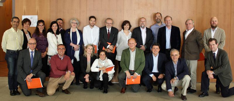 Integrantes del Comité Técnico del III Congreso Edificios Inteligentes