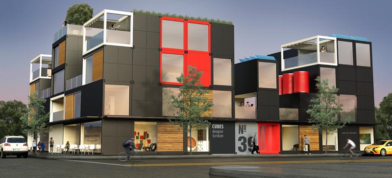Blokable viviendas modulares con sistemas de gesti n - Viviendas modulares diseno ...