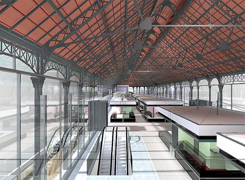 Mercado del Val de Valladolid, uno de los centros comerciales en los que se ha realizado el proyecto CommONEnergy