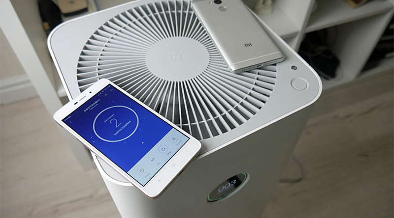Purificador del aire Mi Air Purifier Pro de Xiaomi
